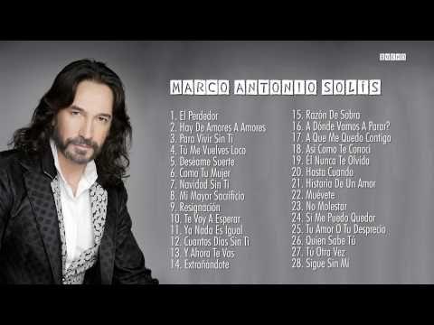 Marco Antonio Solís Sus Mejores Baladas Románticas Exitos Mix Baladas Romanticas Marco Antonio Mejores Canciones