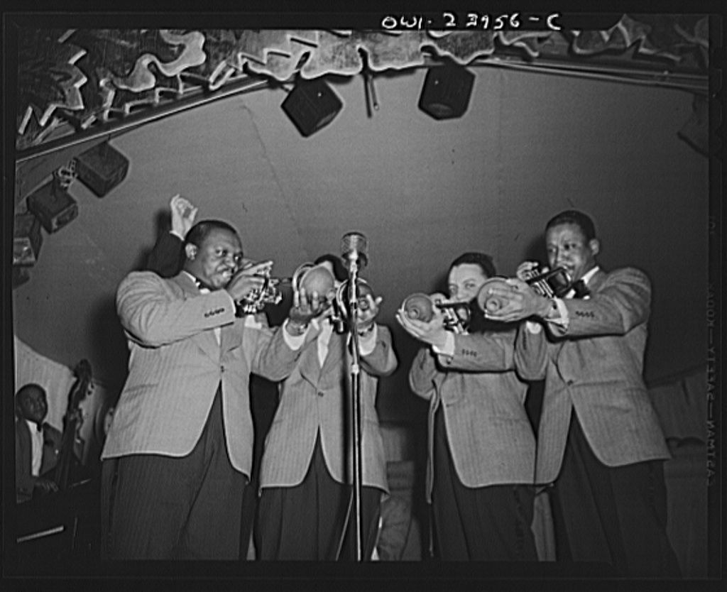 The Trumpet Section of Duke Ellington's Orchestra 1943