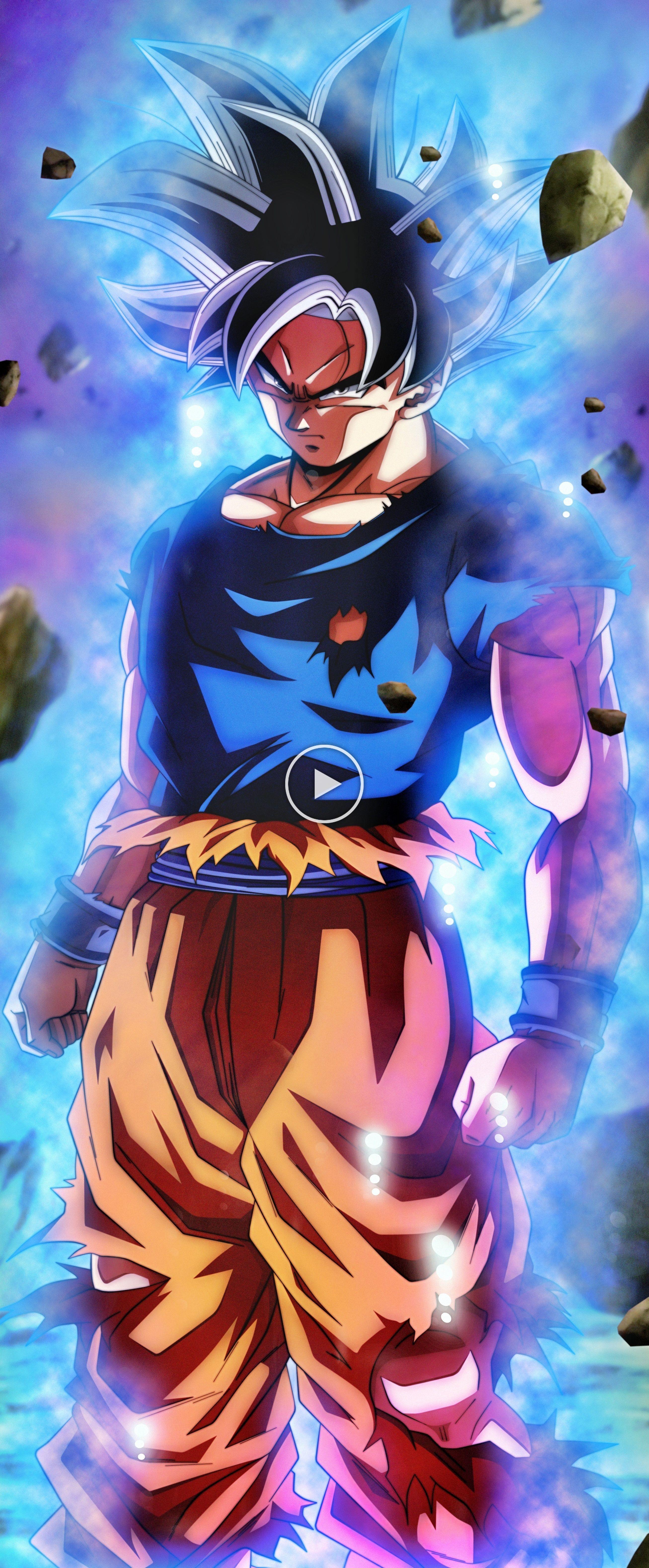 Goku Ultra Instinto (Universo 7) en 2020 Fondo de