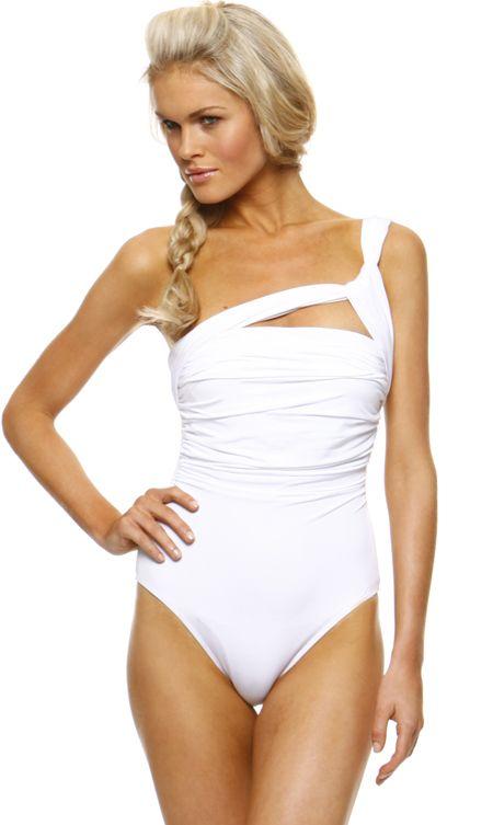ae74d9ba3af2ebdf79d17aaa9e48895c 1 sol swimwear 1 sol swimwear asymmetrical one piece smashin,1 Sol Swimwear