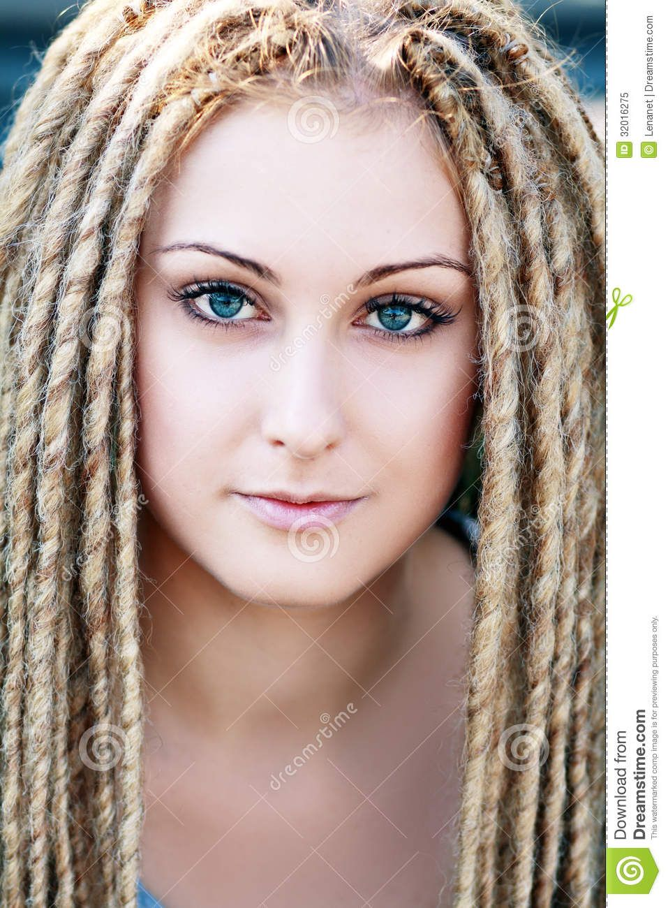 white girl dreads Google Search Cheveux coiffure