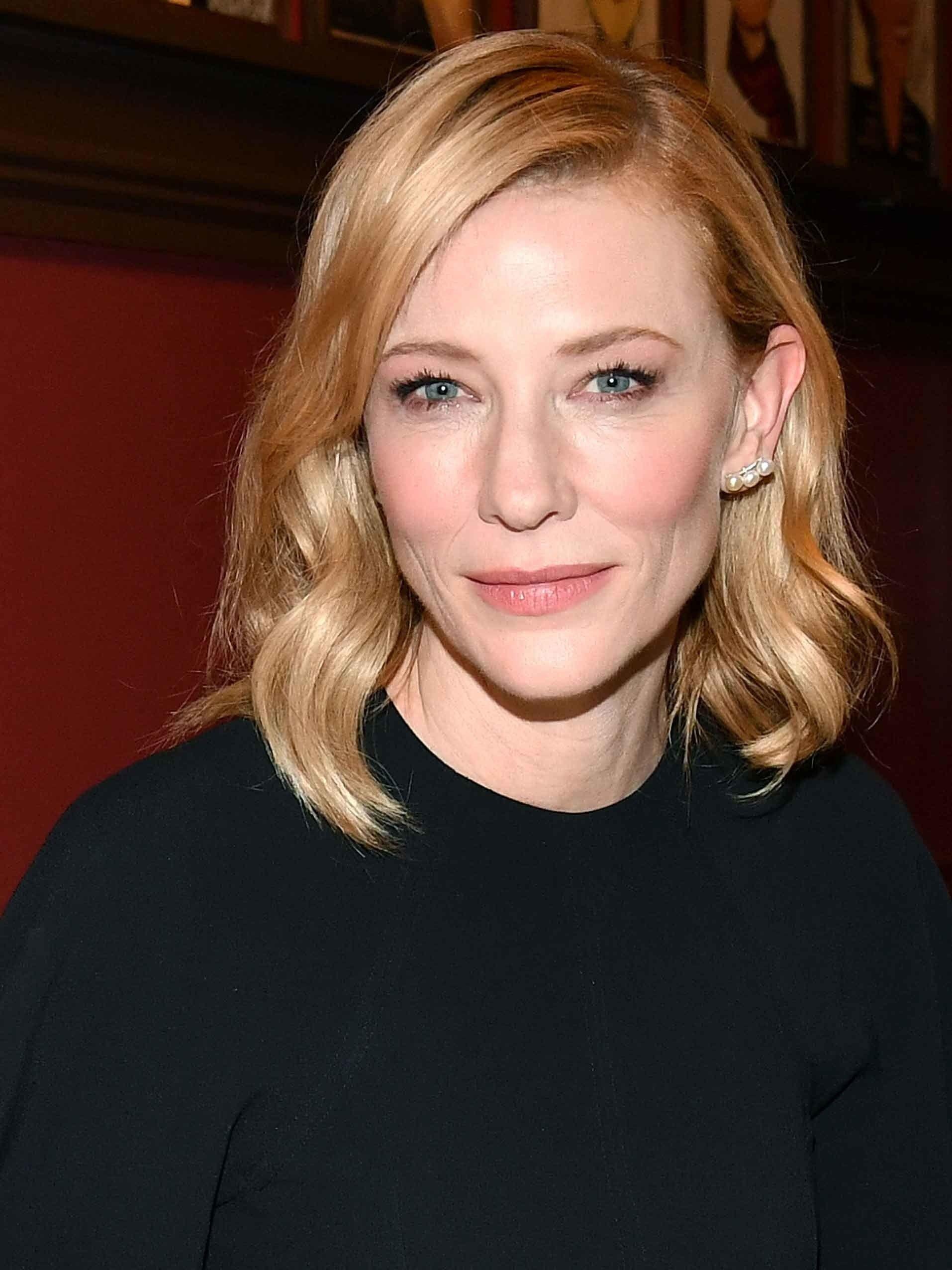 Cate Blanchett 49 Actress Crushes Cate Blanchett Skin Care Beauty Photos