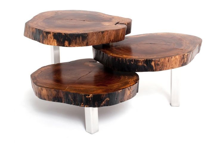 Hollow Tree Trunk Spring House Coffee Tables With Natural Driftwood Wood  Table And Reclaimed Wood Art