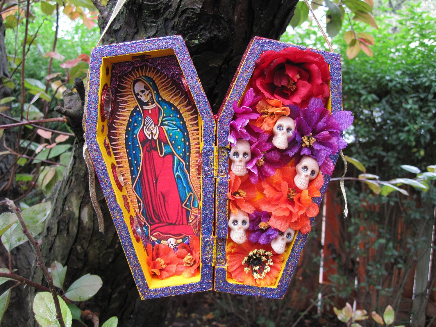 Da de los muertosday of the dead santa muerte nicho alter da de los muertosday of the dead santa muerte nicho alter dailygadgetfo Choice Image