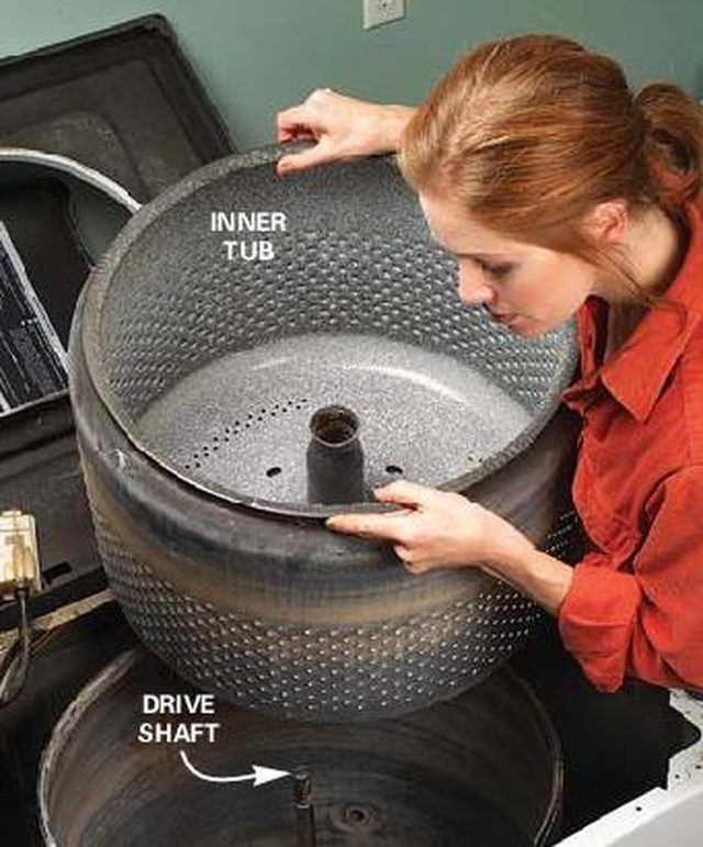 How to Make A Bonfire Pit Out of An Old Washing Machine ...