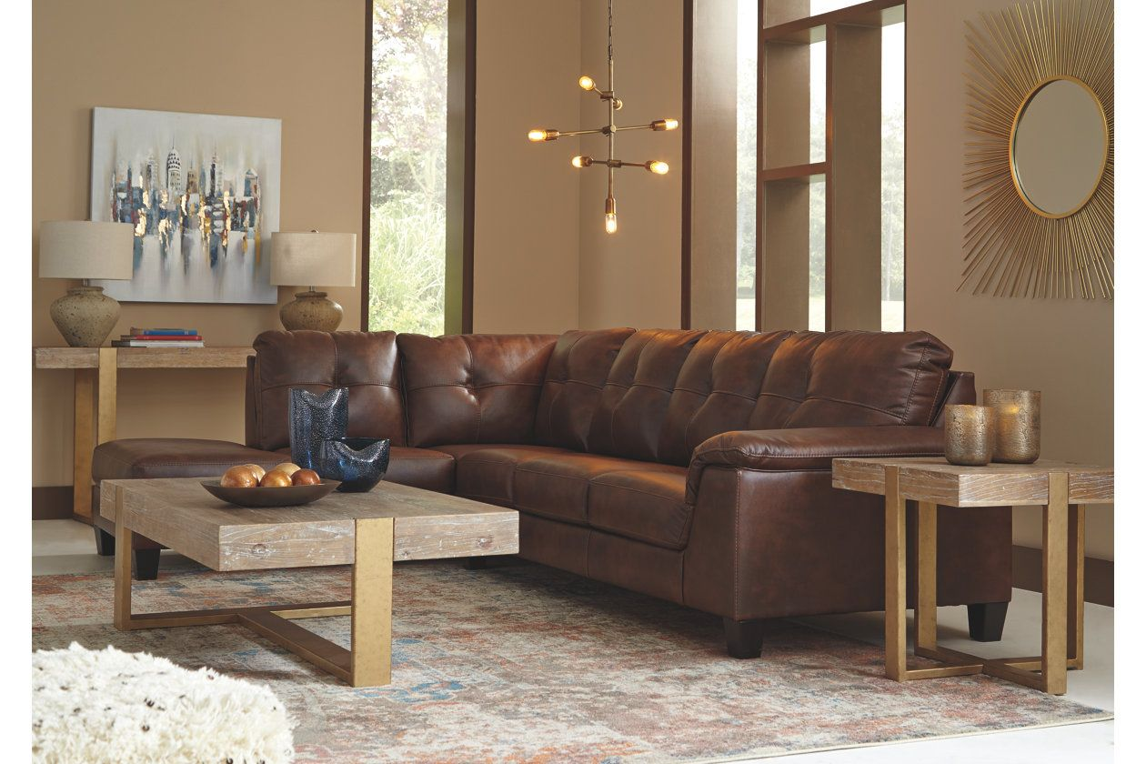 Goldstone 2 Piece Sectional Ashley Furniture Homestore New House
