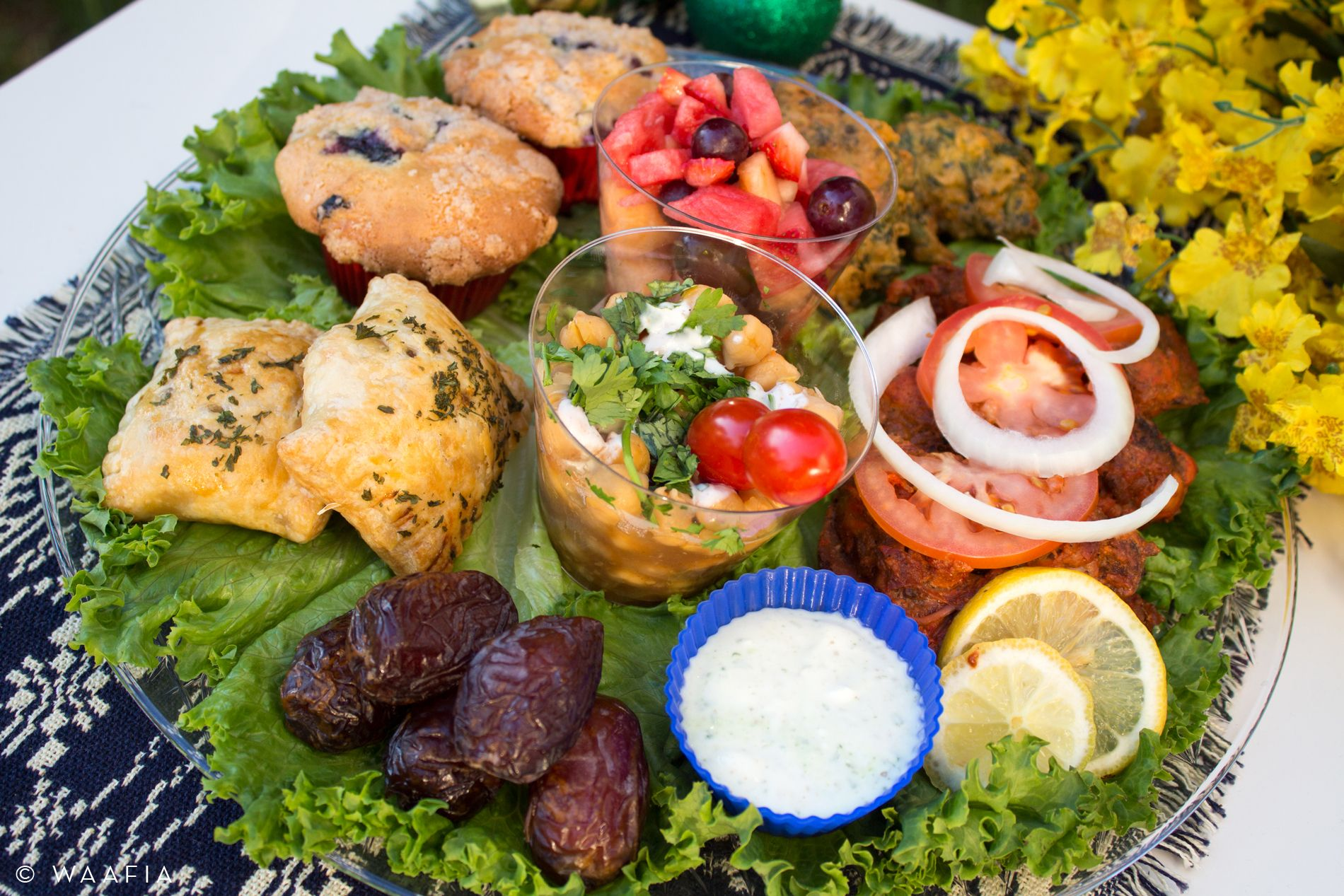 Ramadan Iftar Platters We Made For Our Neighbors Our Kids Were So