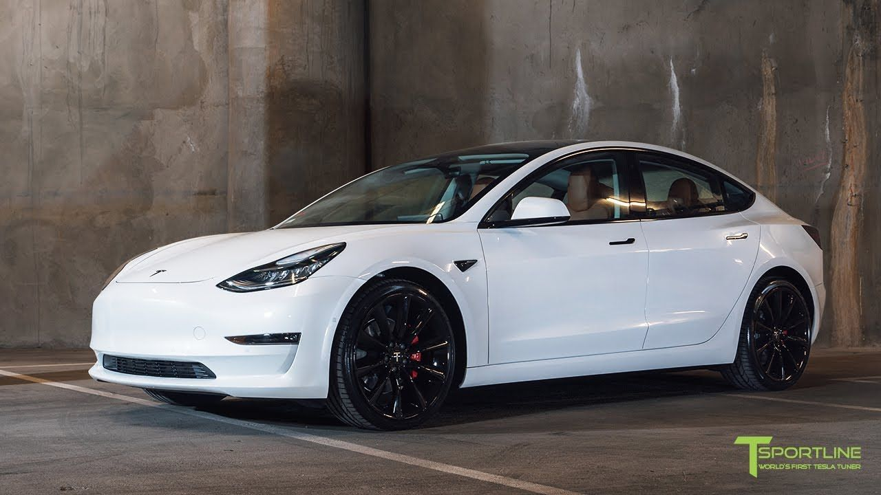 Pearl White Tesla Model 3 Customized With A Special Interior Color And 2 Tesla Model Tesla Tesla Car