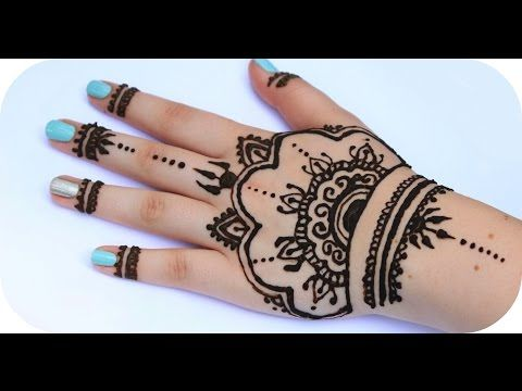 henna tutorial 3 ganze hand sanny kaur youtube p. Black Bedroom Furniture Sets. Home Design Ideas