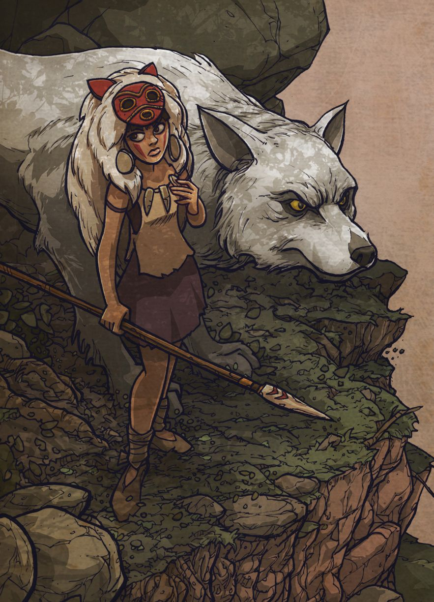 the Wolf Girl pesky demon by jimmymcwicked on
