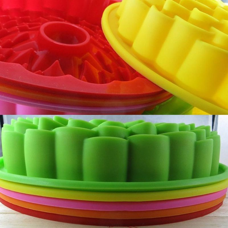 New fashion girasole shape cucina pastosa stampo attrezzi for Attrezzi cucina in silicone