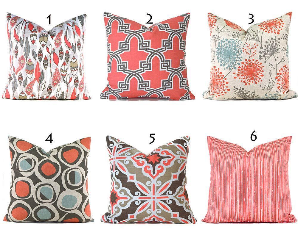 free of decorative today shipping home panama pillows product overstock inch garden set cotton jack coral pillow