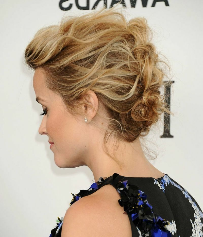 30 Simple updos to make yourself When it comes to elegant ...