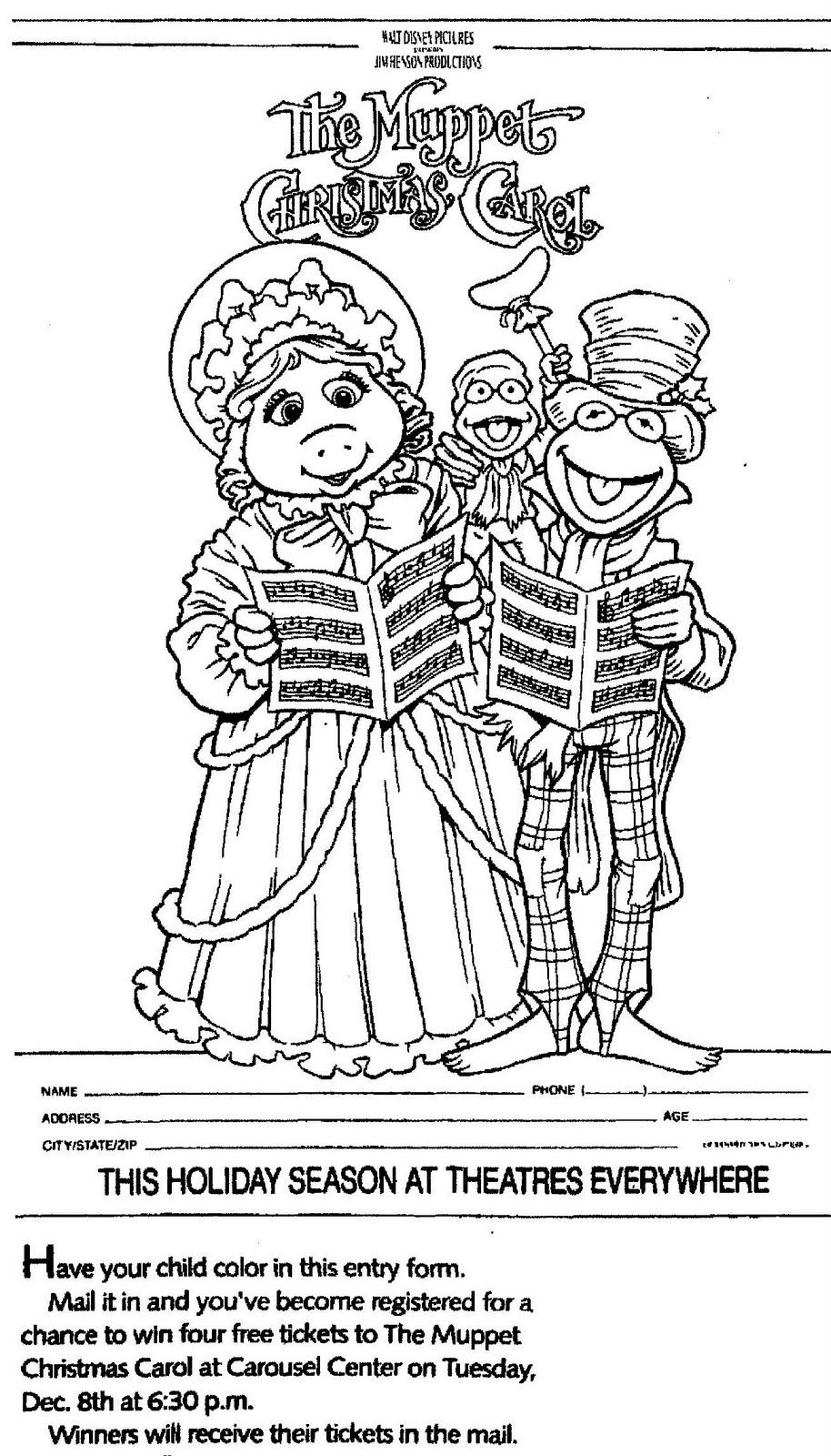 Related Image Christmas Coloring Pages Muppet Christmas Carol Christmas Colors