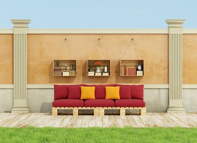 Pallets – That Support Your Things Well | From the Garden to