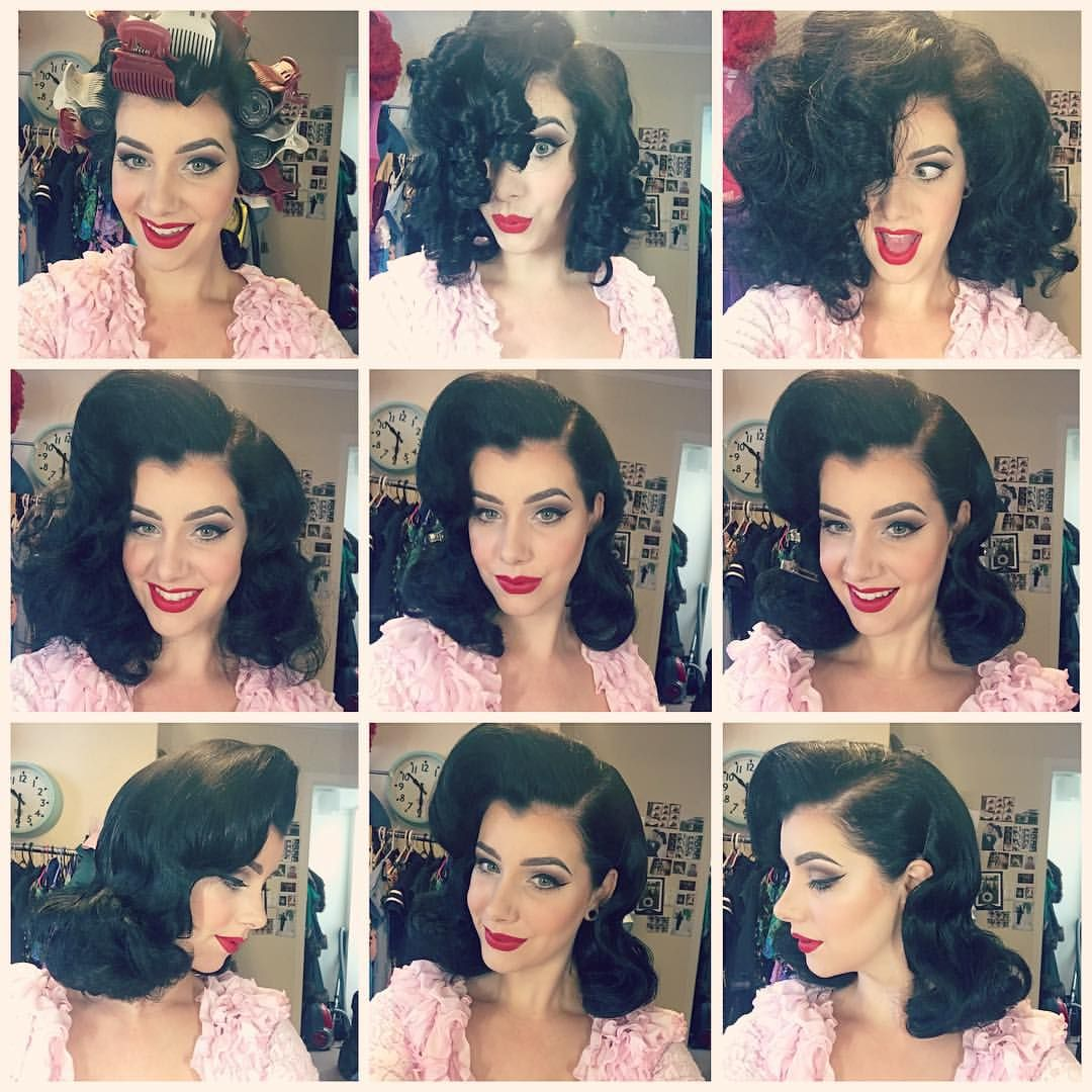 Pin By Liz Rose Poe On Vintage Hairstyles In 2020 Hot Rollers Hair Hair Styles Vintage Hairstyles