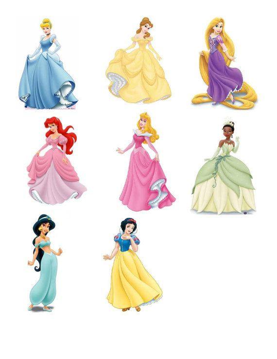 Disney Princess Cutouts Printables | brooklyns princess party ideas ...