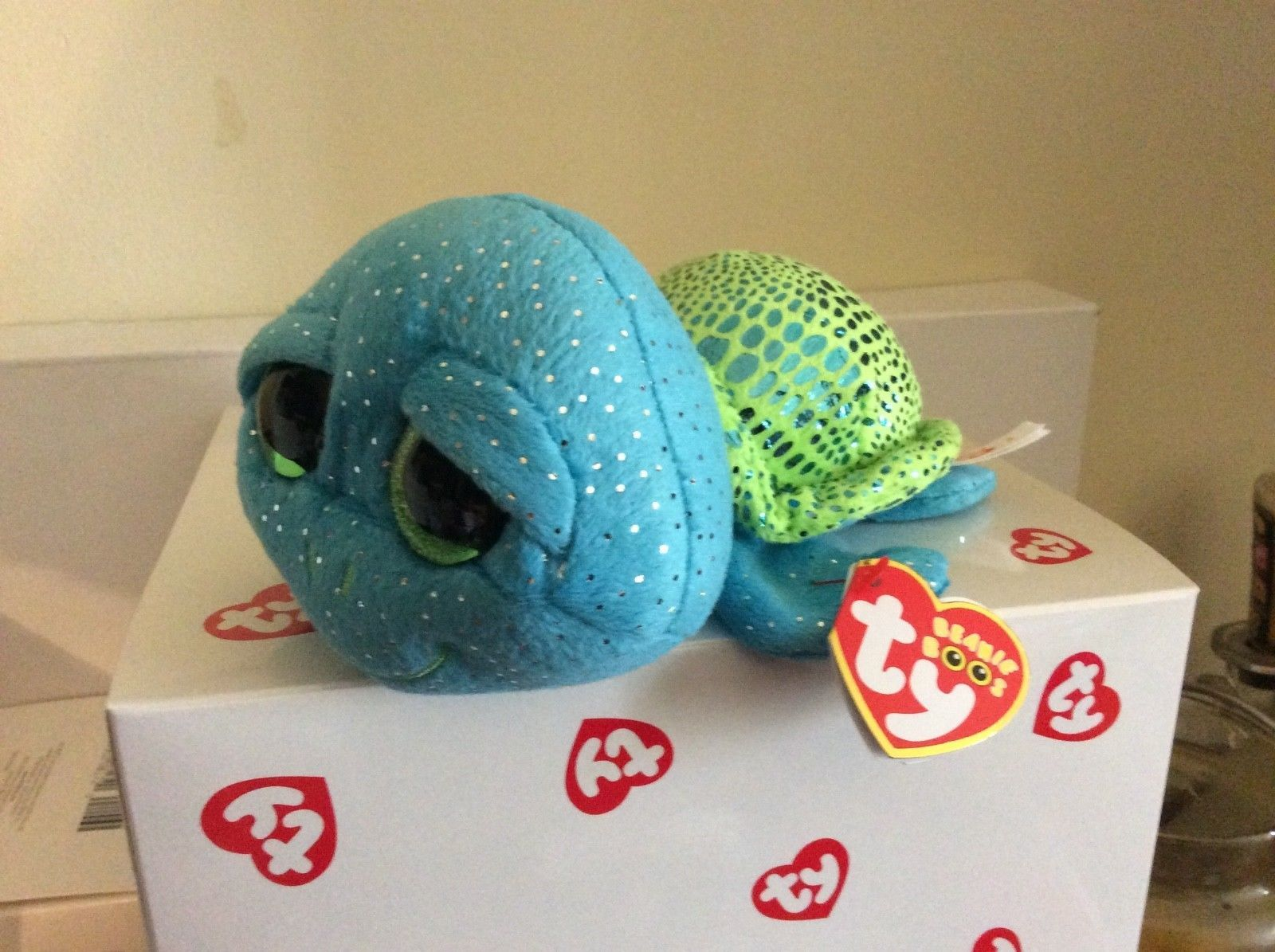 a8d529731ef Current 438  Ty Beanie Boo Cara The Sea Turtle-Sea World Exclusive 6 Mwmt