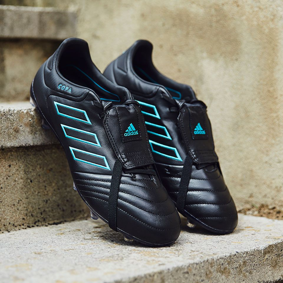 the latest 37a87 96681 Sepatu Bola Adidas Copa 17 Gloro FG Core Black Core Black Energy Blue 100%  Original Terbaru 2017