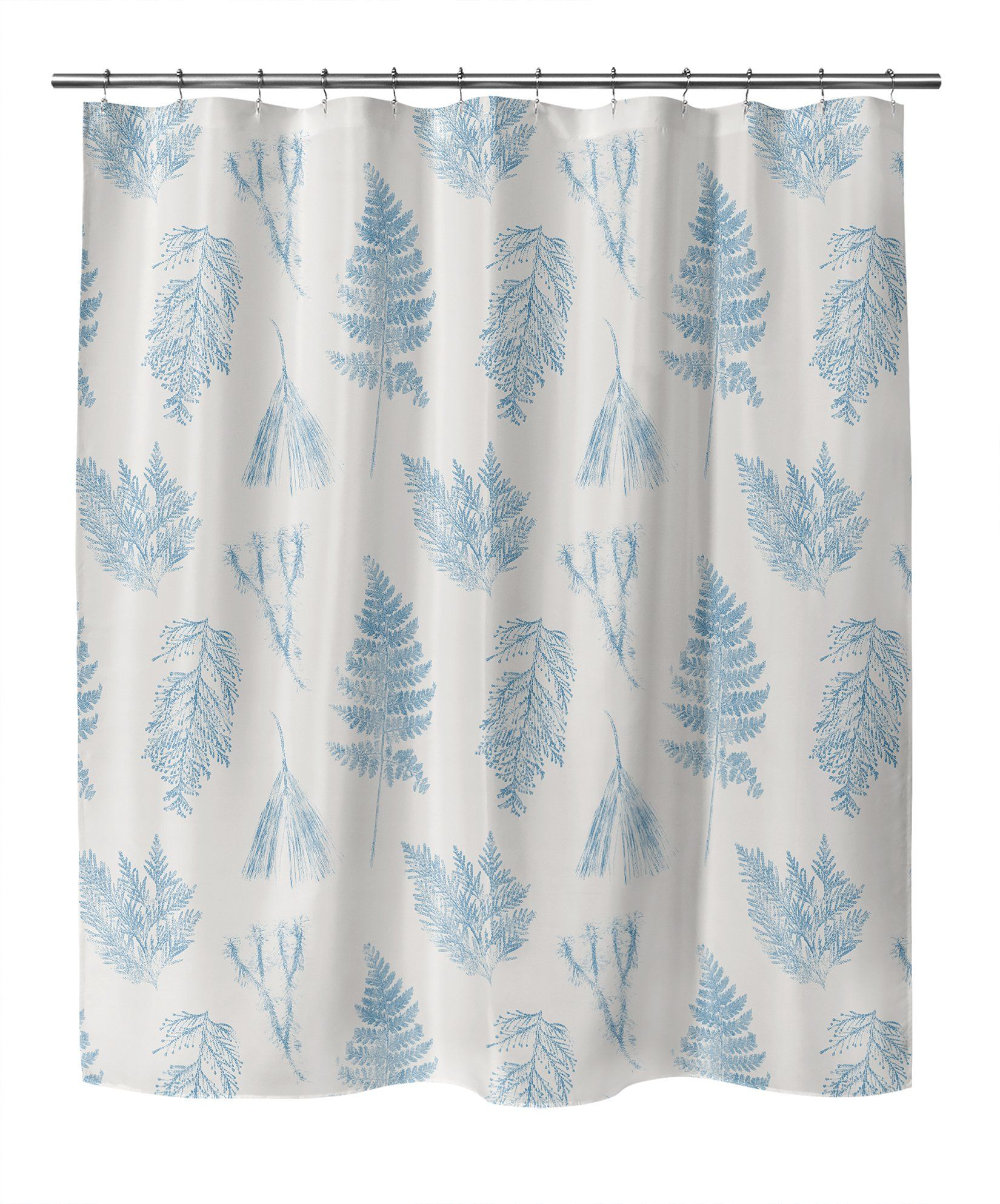 Photo of HAMMOND BLUE Shower Curtain By Becky Bailey – 70in x 90in