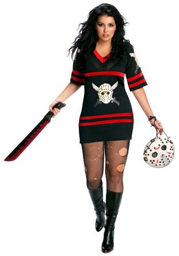 rubies costume co womens plus size secret wishes full figure friday the miss voorhees costume