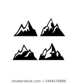 Mountain Images Stock Photos Vectors Shutterstock Icon Set Vector Illustration Free Vector Art