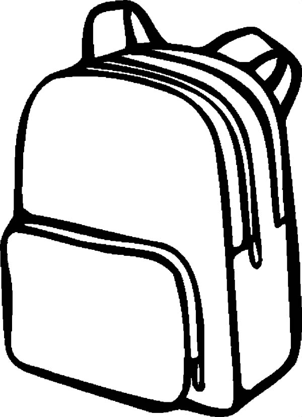 Pin By Tocolor On Backpack Coloring Pages Coloring Pages Princess Coloring Pages Simple Designs