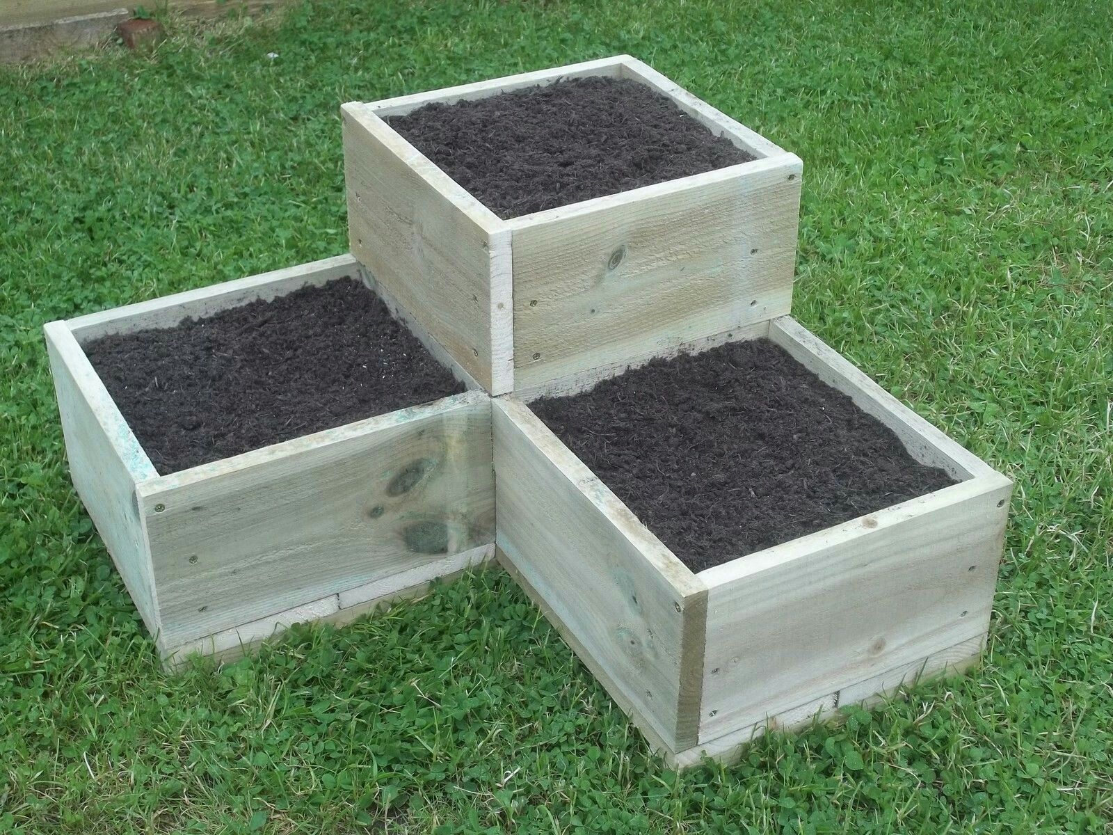 High Quality Hand Made, Quality, Wooden Garden Raised Beds, Herb Planter, Borders