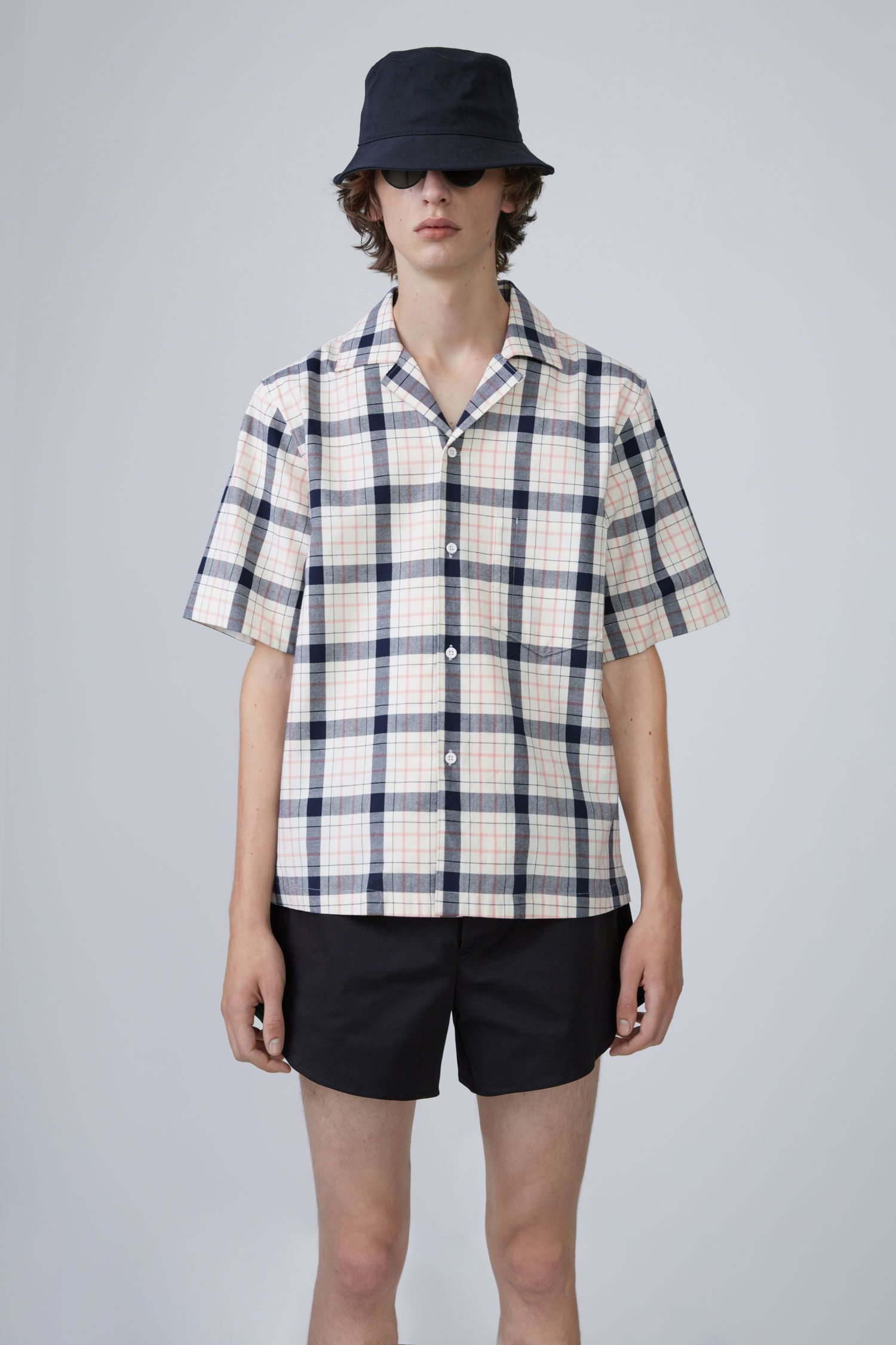 6344a8c121 ACNE STUDIOS Elm Big Check pale pink.  acnestudios  cloth