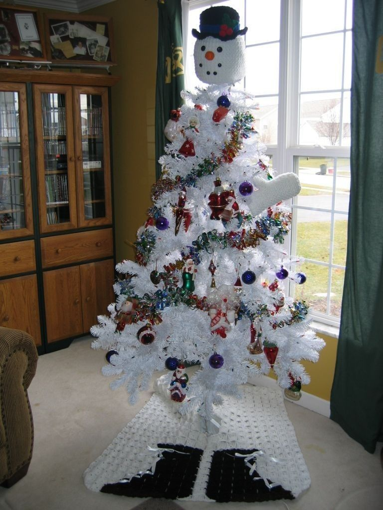 Turn Your Tree Into A Snowman pattern by Donna Collinsworth