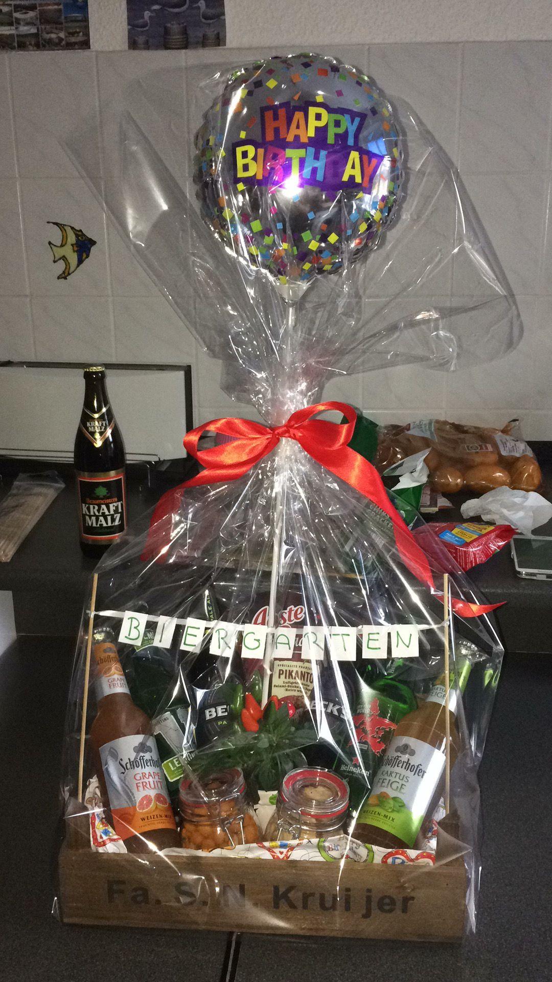 Biergarten Fur Manner Zum Geburtstag Geschenkideen Geschenke Geschenke Zum Geburtstag