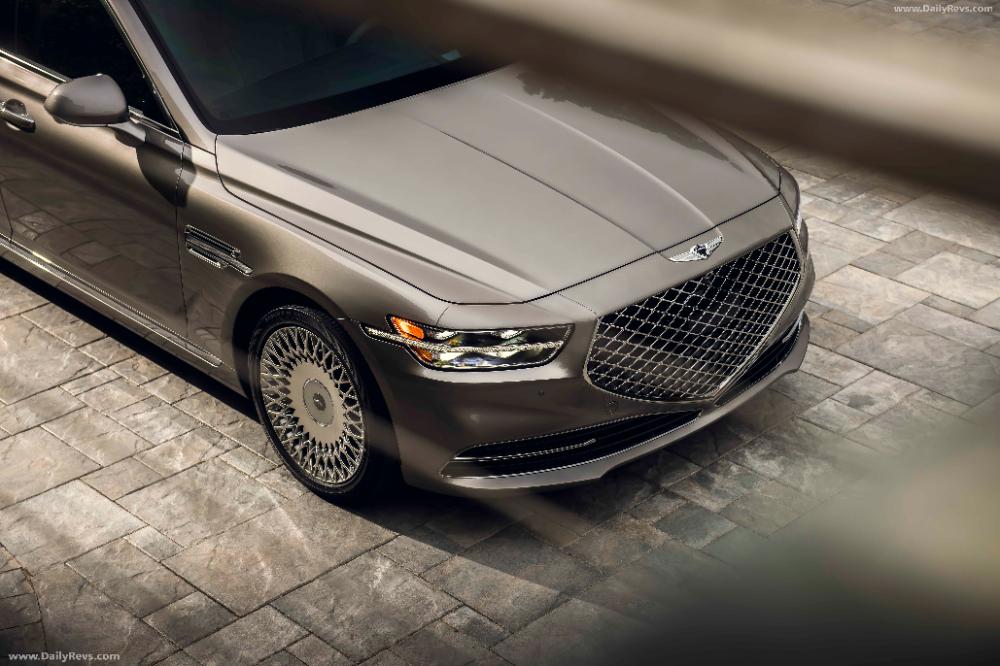 2020 Genesis G90 Dailyrevs Com In 2020 Sedan Genesis New Luxury Cars