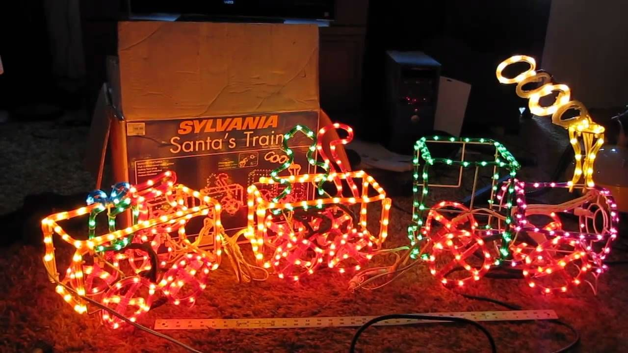 outdoor christmas rope train Google Search