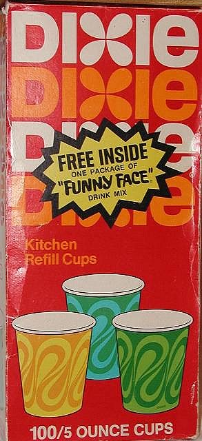 I drank out of many of these when I was a kid.