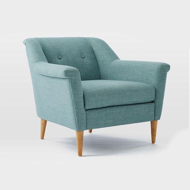 Dongguan Furniture Factory Anese Garden Sofa Fabric Tian Xiaoqing New Simple Style Wooden Feet