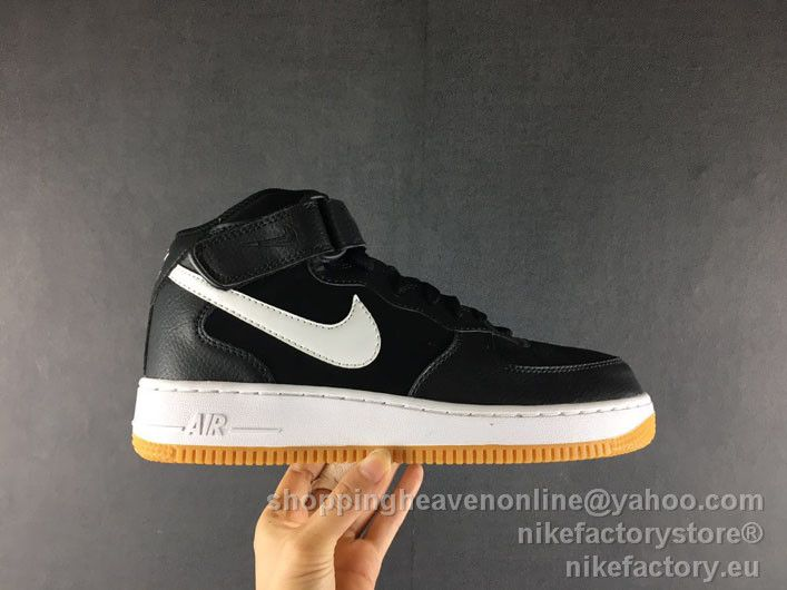 more photos ad39d 60c0c NIKE AIR FORCE 1 MID '07 315123-035 Black 39-45 | Nike Air ...