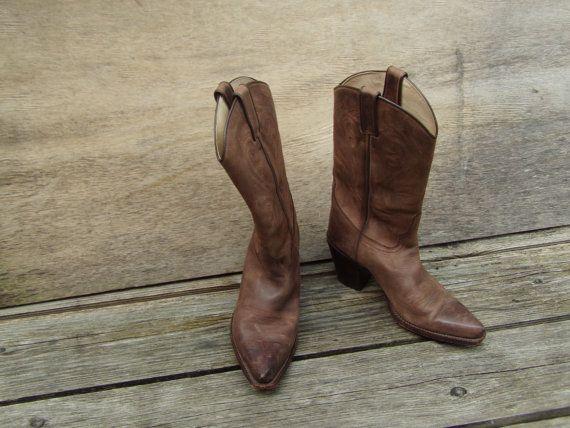 70fe659718f Women's Judy Rothchild Western style Cowboy Boots size 37 Genuine ...
