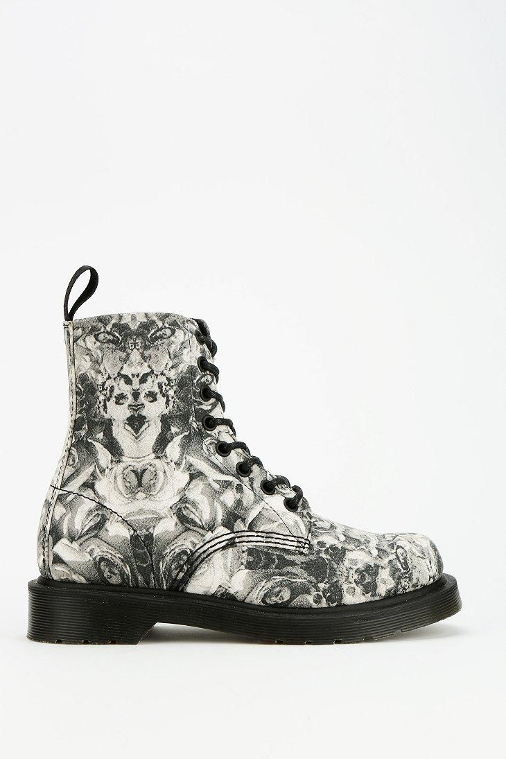 9596ebcf9 Dr. Martens Skull & Roses 8-Eye Boot #urbanoutfitters | Shoes Shoes ...