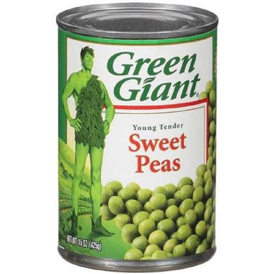 Product Description Green Giant Young Tender Sweet Peas 15