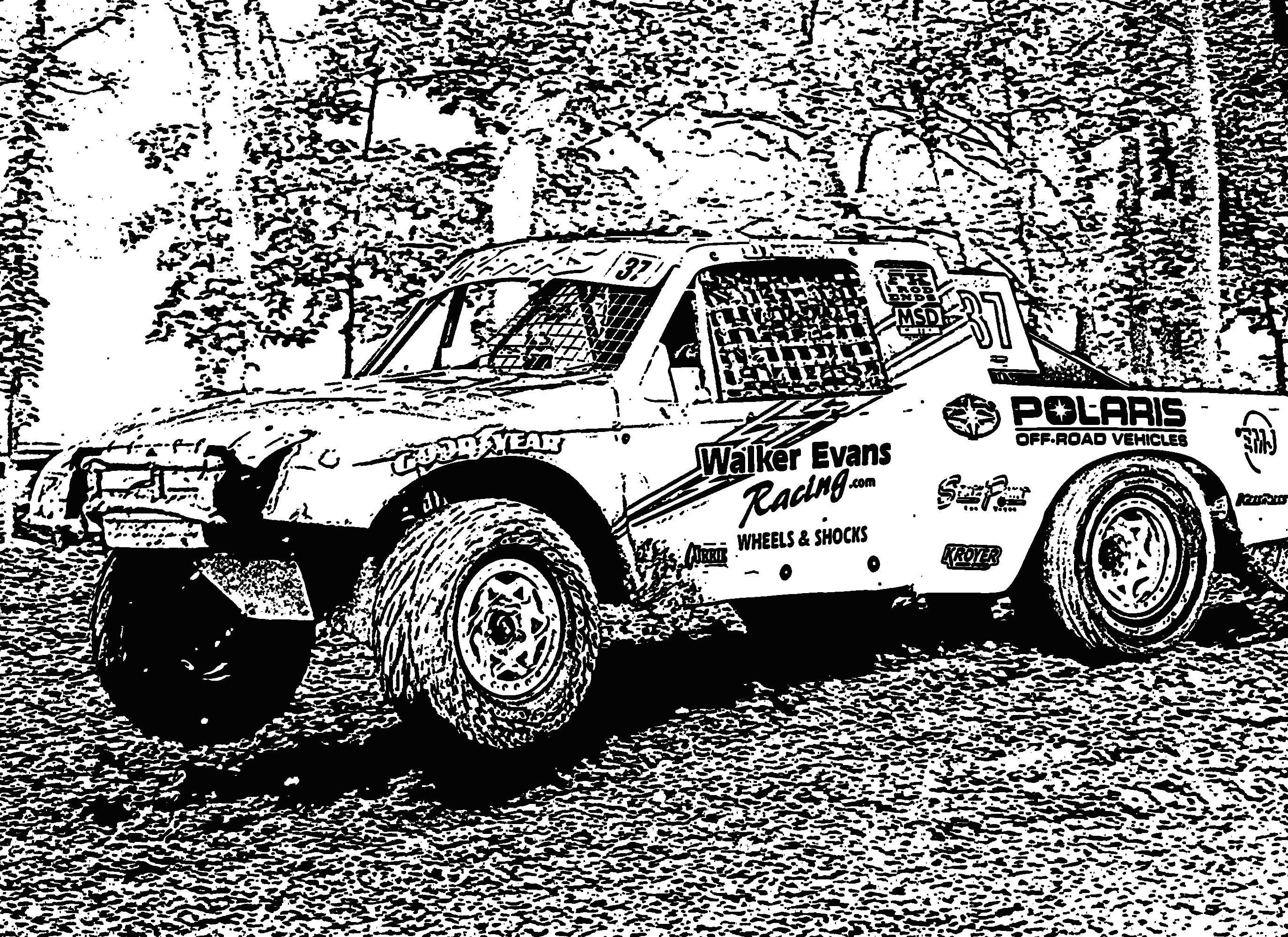 Car Coloring Pages : Coloring page race car coloring pages
