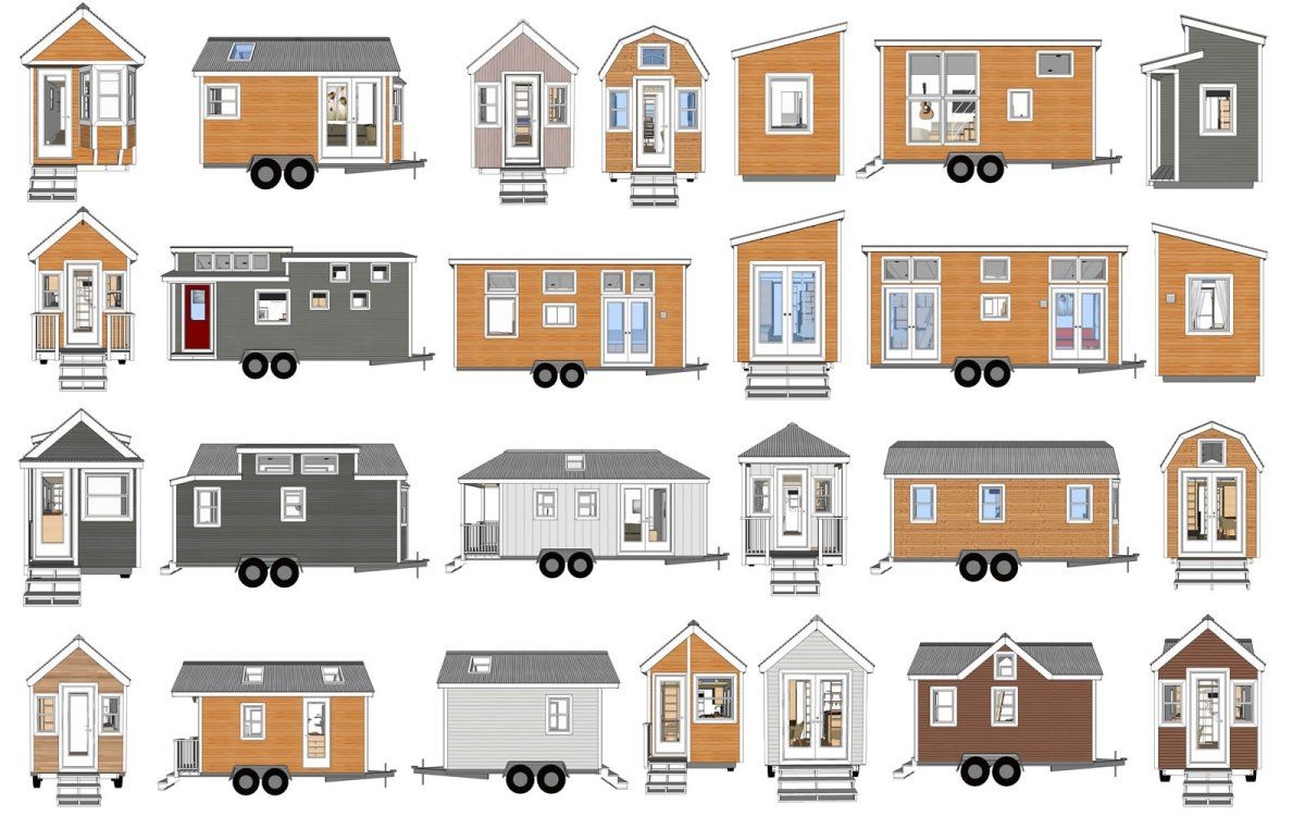 Mix & Match Your Own Tiny House Design Mashup | Homes | Pinterest ...