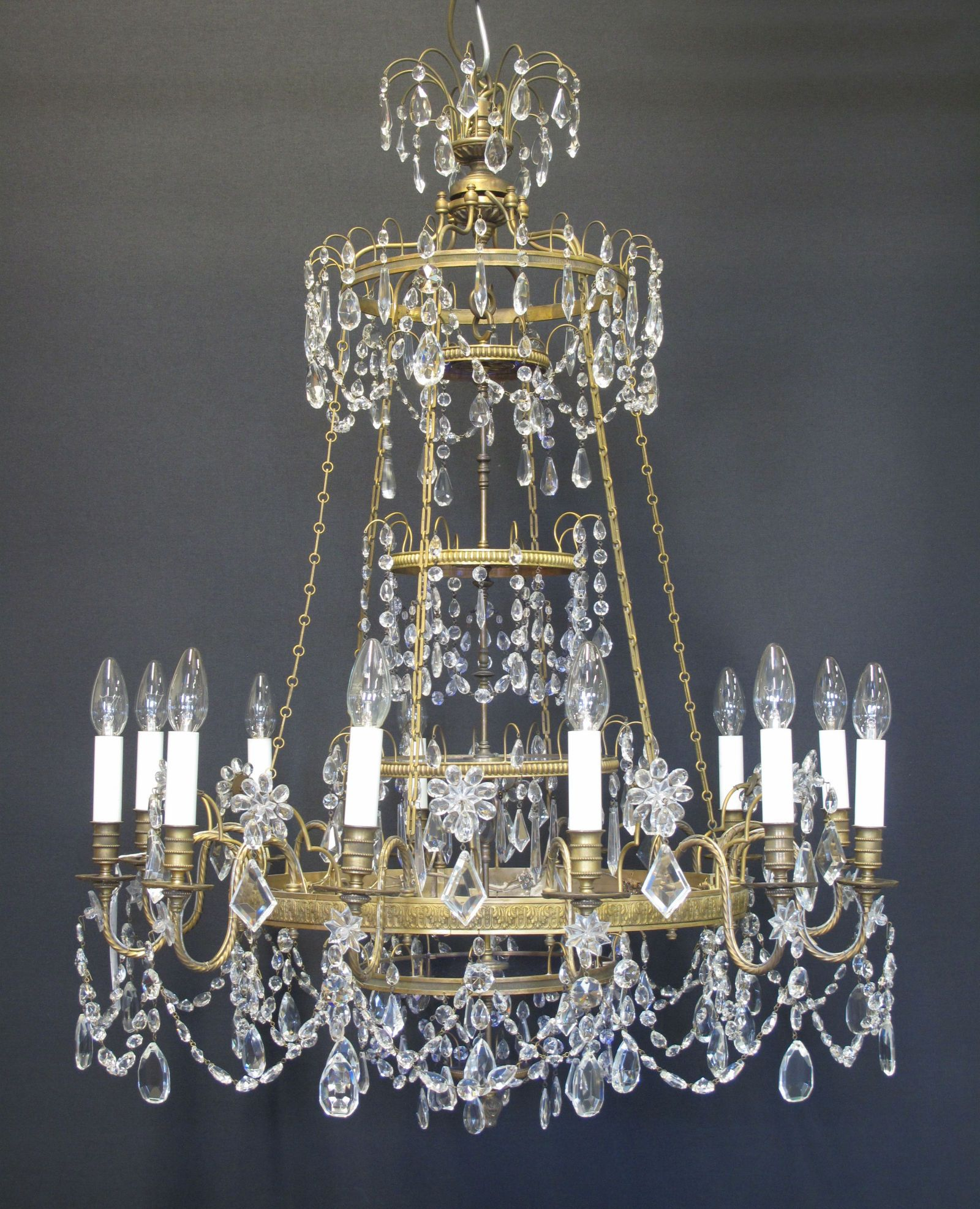 G p cohn antique chandeliers repairs restoration gorgeous g p cohn antique chandeliers repairs restoration aloadofball Image collections