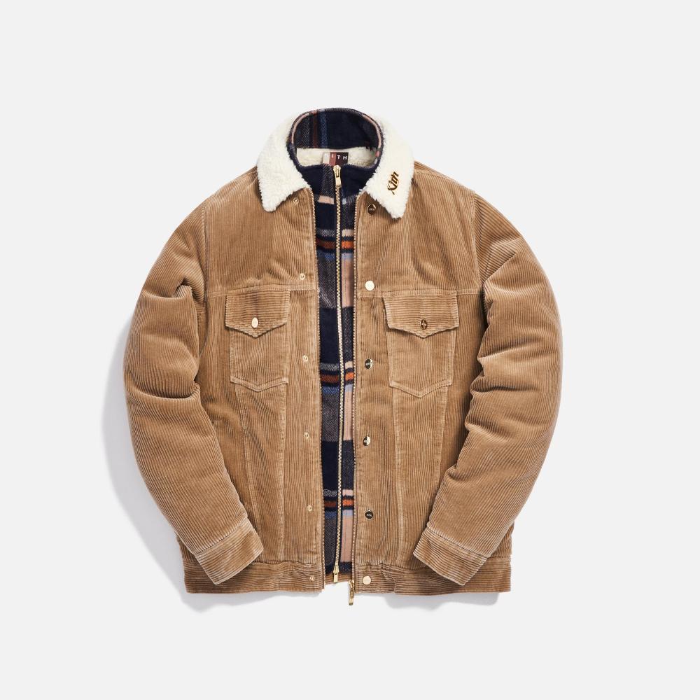 Kith Corduroy Laight Jacket Tan Jackets Kith Corduroy [ 1000 x 1000 Pixel ]