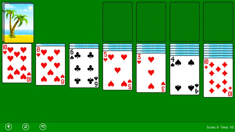 play solitaire online free classic no download Yahoo