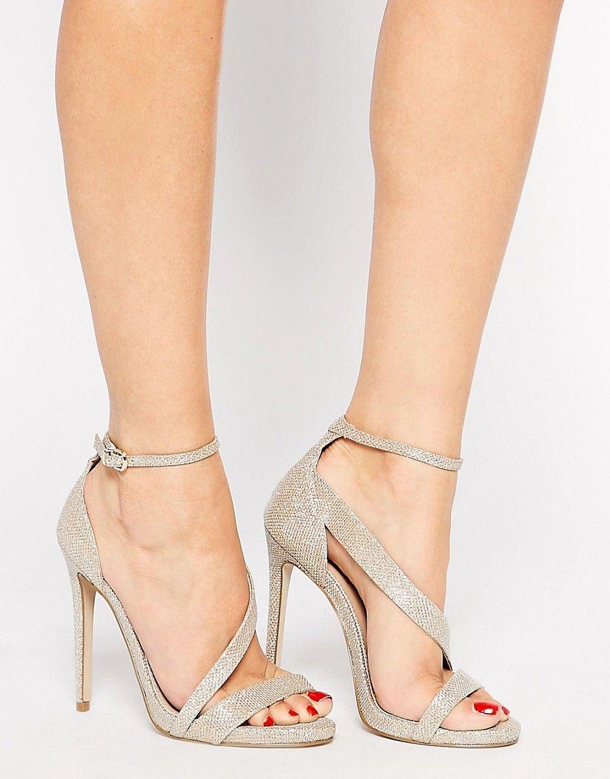 Buy Women Shoes / Carvela Gosh Gold Heeled Strap Sandals