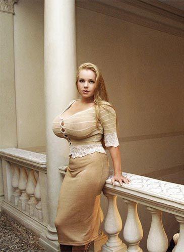 Think, slender tan very busty beautiful models think