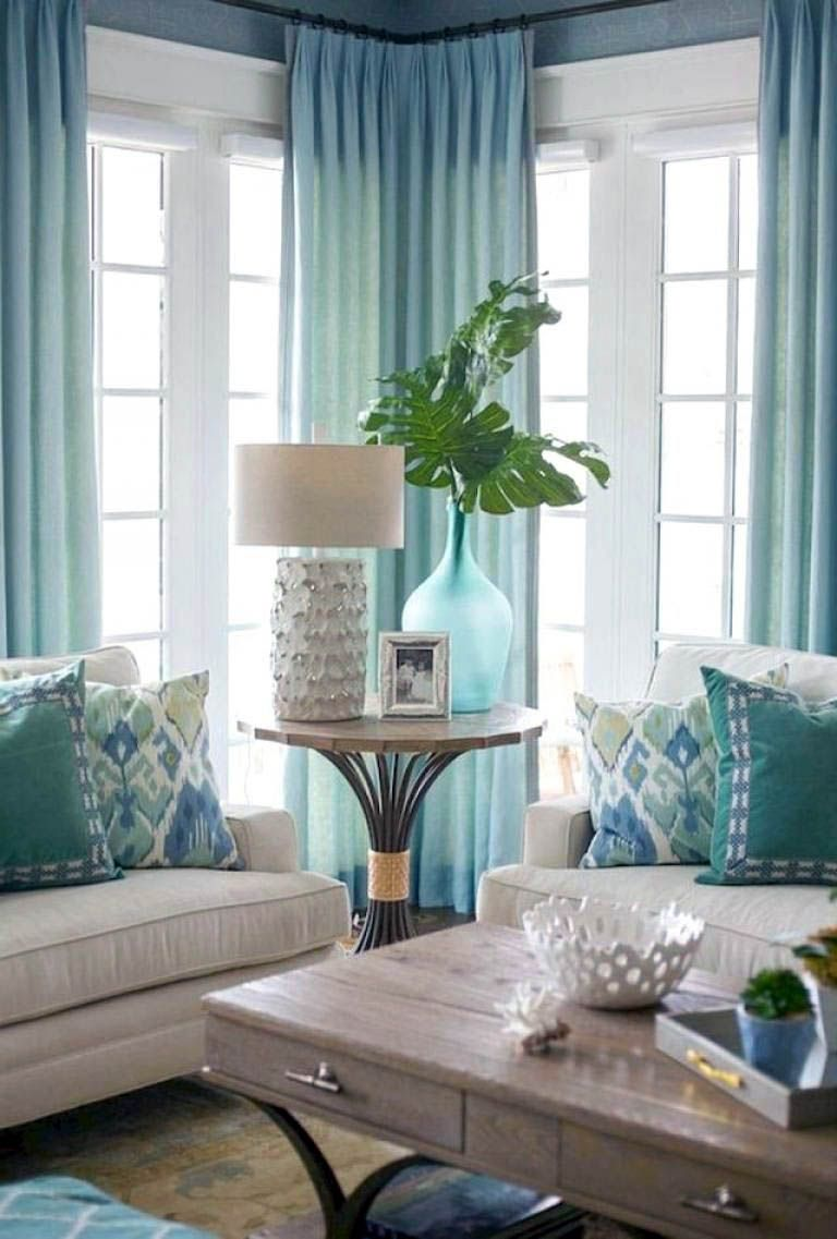 12 Living Area Curtain Tips To Immediately Improve Your Inner Parts Decor Coastal Living Rooms Home Decor #tier #curtains #living #room