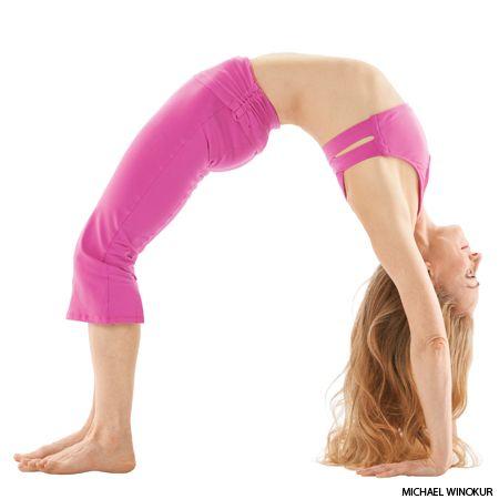upward bow wheel pose  yoga yoga poses and exercises