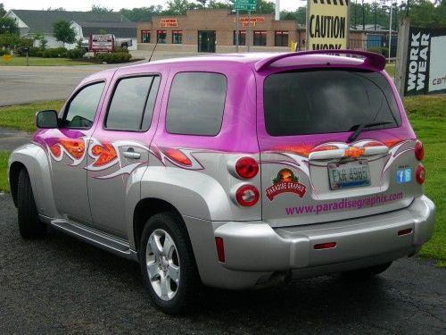 Chevrolet Hhr Chevy Hhr Car Wrap Cool Trucks