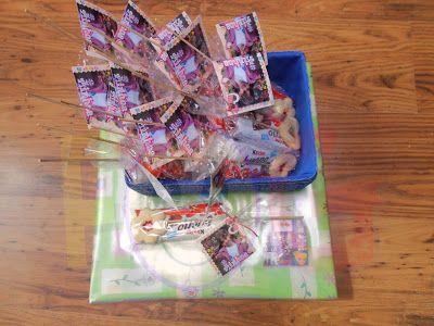 creaciones FOG: más dulces en el cumple de Ainhoa